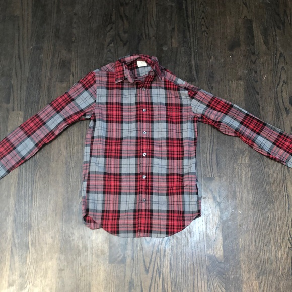 Xtra-Small J.Crew flannel look shirt.
